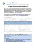 Quick Guide & FAQs